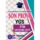 Gür Yayınları YGS 3 lü Son Prova Deneme Seti