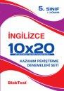 Blok Test Yayınları  5. Sınıf İngilizce 10x20 Deneme