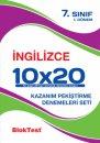 Blok Test Yayınları 7. Sınıf İngilizce 10x20 Deneme