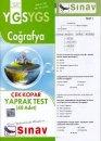 Sınav YGS Coğrafya Çek Kopar Yaprak Test 48 Adet
