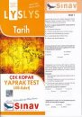 Sınav LYS Tarih Çek Kopar Yaprak Test 48 Adet