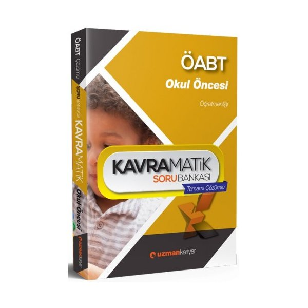 Uzman Kariyer Yayınları 2017 ÖABT Okul Öncesi Öğretmenliği Kavramatik Tamamı Çözümlü Soru Bankası