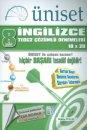 Üniset 8. Sınıf TEOG 2 İngilizce Çözümlü Denemeleri 10x20