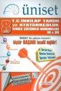 Üniset 8. Sınıf TEOG 2 T.C. İnkılap Tarihi ve Atatürkçülük Çözümlü Denemeleri 10x20