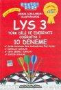 Akıllı Adam LYS 3 Tamamı Çözümlü 10 Deneme