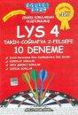 Akıllı Adam LYS 4 Tamamı Çözümlü 10 Deneme