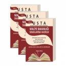 Usta Maliye Bakanlığı Sınavlarına Hazırlık Çıkmış Sınav Soruları ve Çözümleri 3 Cilt Ekin Yayınları