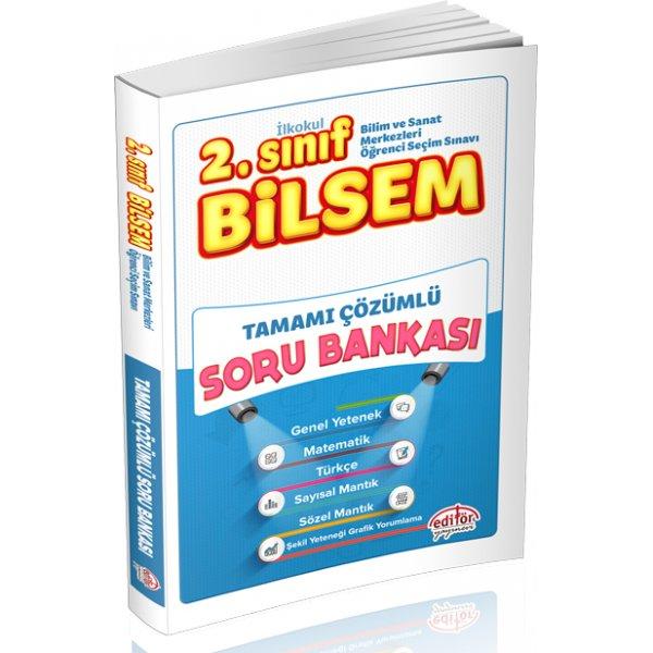 Editör Yayınları 2. Sınıf Bilsem Çözümlü Çözümlü Soru Bankası