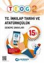 Gezegen Yayıncılık TEOG 2 T.C inkilap Tarihi ve Atatürkçülük 15 li Deneme Sınavı