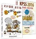 2016 KPSS Keyifli Tarih Soru Konu Seti Yediiklim Yayınları
