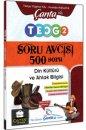 8. Sınıf TEOG 2 Din Kültürü ve Ahlak Bilgisi 500 Soru Avcısı Çanta Yayınları