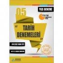 YGS Tarih 40x15 Denemeleri Sıradışıanaliz Yayınları