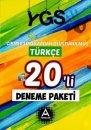 A Yayınları YGS Türkçe 20 li Deneme Paketi Çıkmış Sorulardan Oluşturulmuş