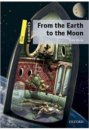 Oxford Yayınları Dominoes Stage 1 From The Earth to the Moon Jules Verne