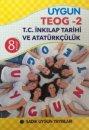 Sadık Uygun Yayınları 8.Sınıf TEOG 2 T.C. İnkılap Tarihi ve Atatürkçülük 20 Deneme