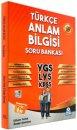 Örnek Akademi YGS LYS KPSS Türkçe Anlam Bilgisi Soru Bankası