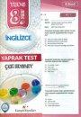 Kampüs Yayınları 8. Sınıf İngilizce Çek Kopar Yaprak Test