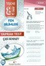Kampüs Yayınları 8. Sınıf Fen Bilimleri Çek Kopar Yaprak Test