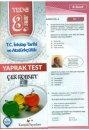 Kampüs Yayınları 8. Sınıf T.C. İnkılap Tarihi ve Atatürkçülük Çek Kopar Yaprak Test
