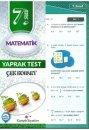 Kampüs Yayınları 7. Sınıf Matematik Çek Kopar Yaprak Test