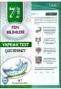 Kampüs Yayınları 7. Sınıf Fen Bilimleri Çek Kopar Yaprak Test