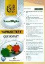 Kampüs Yayınları 6. Sınıf Sosyal Bilgiler Çek Kopar Yaprak Test