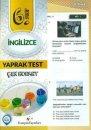 Kampüs Yayınları 6. Sınıf İngilizce Çek Kopar Yaprak Test