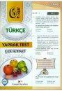 Kampüs Yayınları 6. Sınıf Türkçe Çek Kopar Yaprak Test