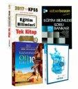 2017 KPSS Eğitim Bilimleri 4 Büyük Yayından Şubat Sonrası Hız Veren Set