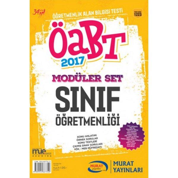 2017 ÖABT Sınıf Öğretmenliği Konu Anlatımlı Modüler Set Murat Yayınları