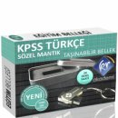 KPSS Türkçe Flash Bellek KR Akademi