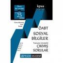 Pegem Yayınları 2018 ÖABT Sosyal Bilgiler Öğretmenliği Tamamı Çözümlü Çıkmış Sorular