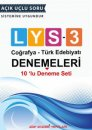 Aday Akademi LYS 3 Coğrafya Türk Edebiyatı 10 lu Deneme Seti