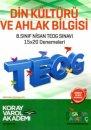 8. Sınıf TEOG 2 Din Kültürü ve Ahlak Bilgisi 15x20 Deneme Koray Varol Akademi
