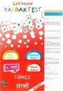 Simya Yayınları 8. Sınıf Türkçe Çek Kopar Yaprak Test