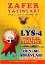 Zafer Yayınları LYS 4 Sosyal Bilimler 10 Adet Özgün Deneme
