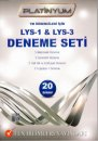 Fen Bilimleri Yayınları LYS 1 ve LYS 3 Platinyum Deneme Seti TM Öğrencileri İçin 20 Sınav