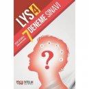 Nitelik Yayınları LYS 4 Kısa Cevaplı 7 Deneme Sınavı