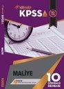 Yükseliş Kariyer Yayınları KPSS A Grubu Maliye Çözümlü 10 Deneme