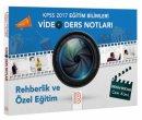 2017 KPSS Eğitim Bilimleri Rehberlik ve Özel Eğitim Video Ders Notları Can Köni Benim Hocam Yayınları
