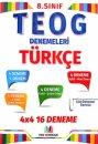 FMS Yayıncılık 8. Sınıf TEOG Türkçe 4x4 16 Deneme