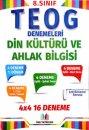 FMS Yayıncılık 8. Sınıf TEOG Din Kültürü ve Ahlak Bilgisi 4x4 16 Deneme