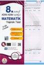 Adım Adım 8. Sınıf Matematik Yaprak Test Bilal Işıklı Yayıncılık