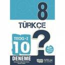 Nitelik Yayınları 8. Sınıf TEOG 2 Türkçe 10 Deneme