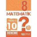 Nitelik Yayınları 8. Sınıf TEOG 2 Matematik 10 Deneme