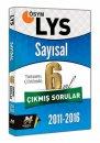 LYS Sayısal Tamamı Çözümlü 6 Yıl Çıkmış Sorular Havalı Yayınları