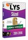 LYS Sözel Tamamı Çözümlü 6 Yıl Çıkmış Sorular Havalı Yayınları