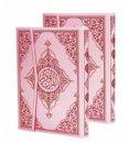 Kur'an-ı Kerim Bilgisayar Hatlı - Pembe Cilt (Orta Boy,Seda Yayınları