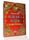 Bilgisayar Hatlı Kur'an-ı Kerim ve Renkli Türkçe Okunuşu (Orta Boy, Kod: 131)Seda Yayınları