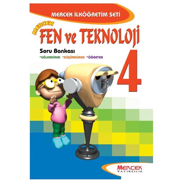 4. Sınıf  Fen Ve Teknoloji  Soru Bankası Mercek Yayınları